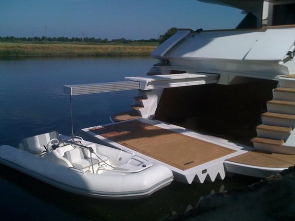 Passerelle Gruette Automatismi Yacht