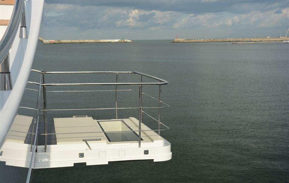 pin-craft gruette yacht passerelle idrauliche